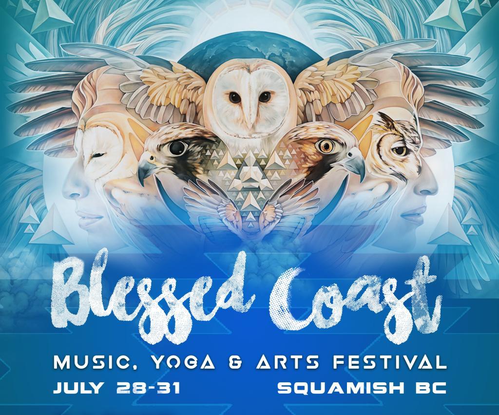 Blessed Coast Music, Yoga & Arts Festival